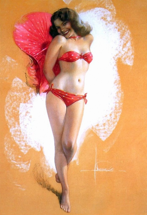 Pin-up Art of Rolf Armstrong (160 работ)
