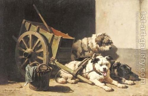 Henriette Ronner-Knip (1821 - 1909) (173 работ)