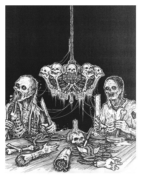 Mark Riddick (Марк Риддик) - Коллекция картин (Death & Black Metal Album Art) (170 работ)