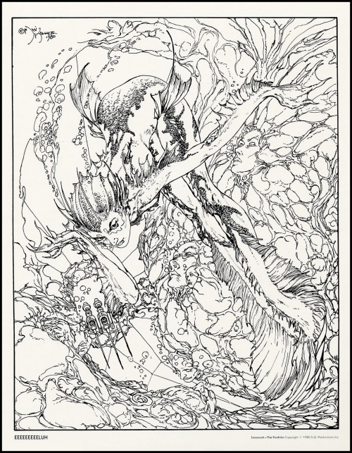Art by Michael Kaluta (570 работ)