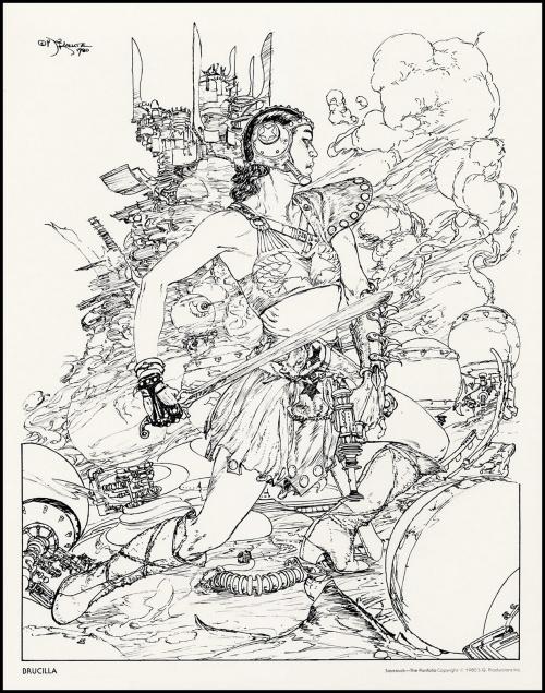 Art by Michael Kaluta (570 работ)