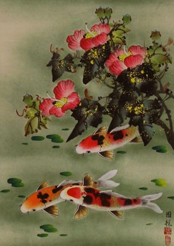Рыбы в китайской живописи (120 работ)