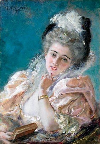 Eduardo Leon Garrido (1856-1906) (57 работ)