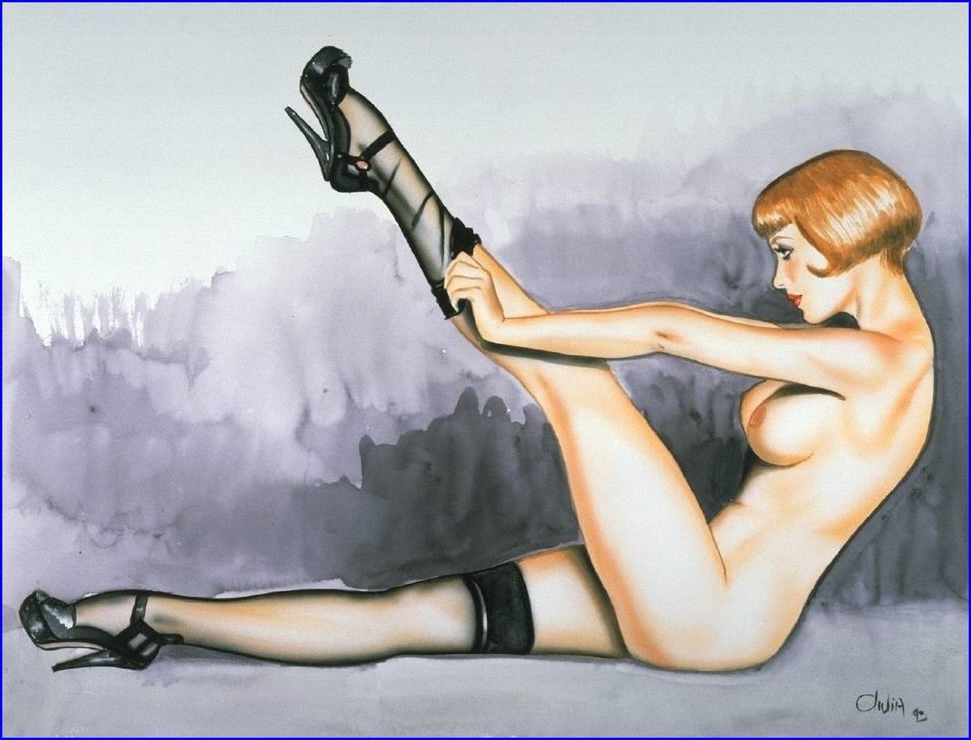 Художники рисующие эротические рисунки 8 фотография