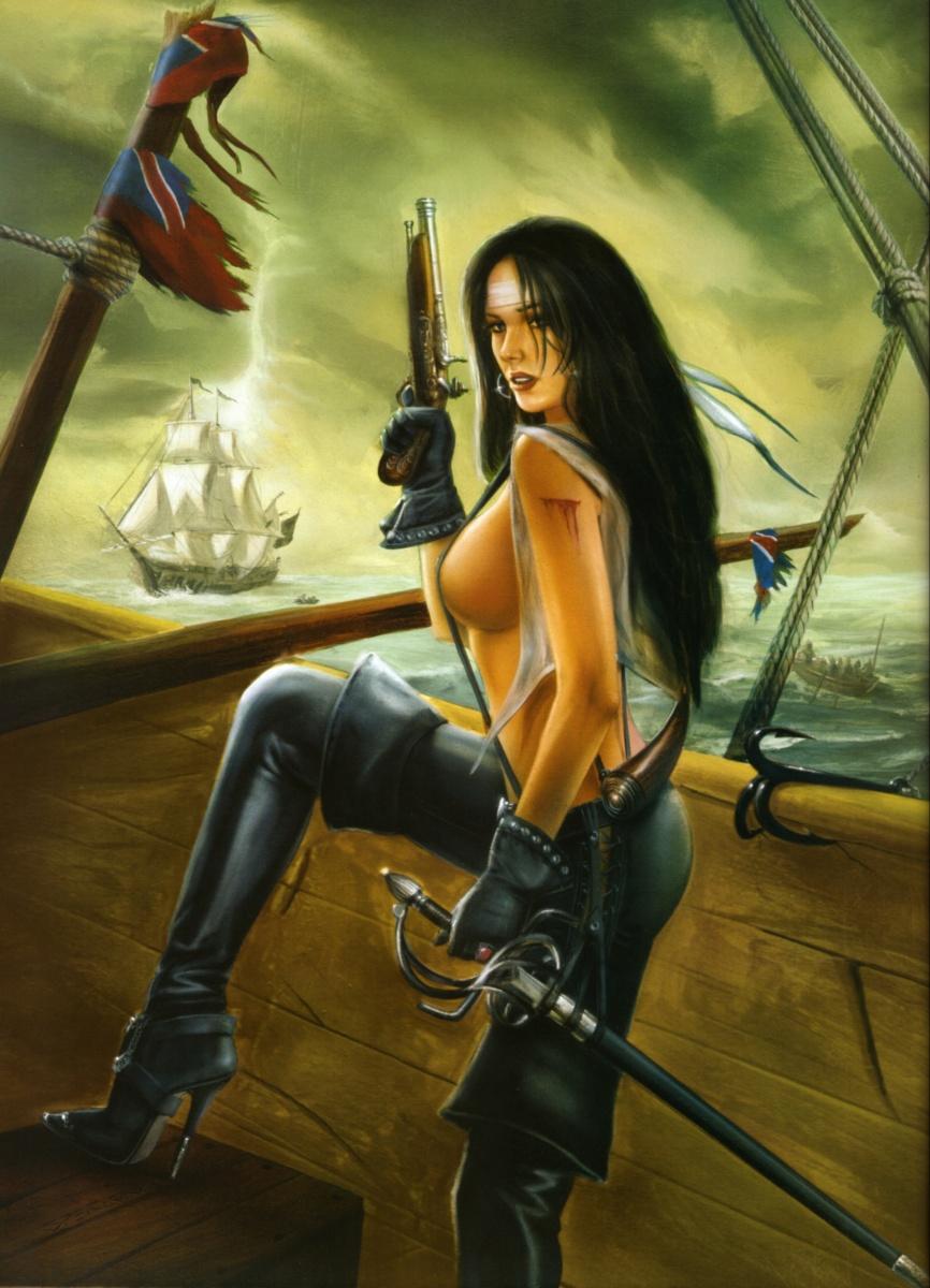 Erotic pirates art sex picture