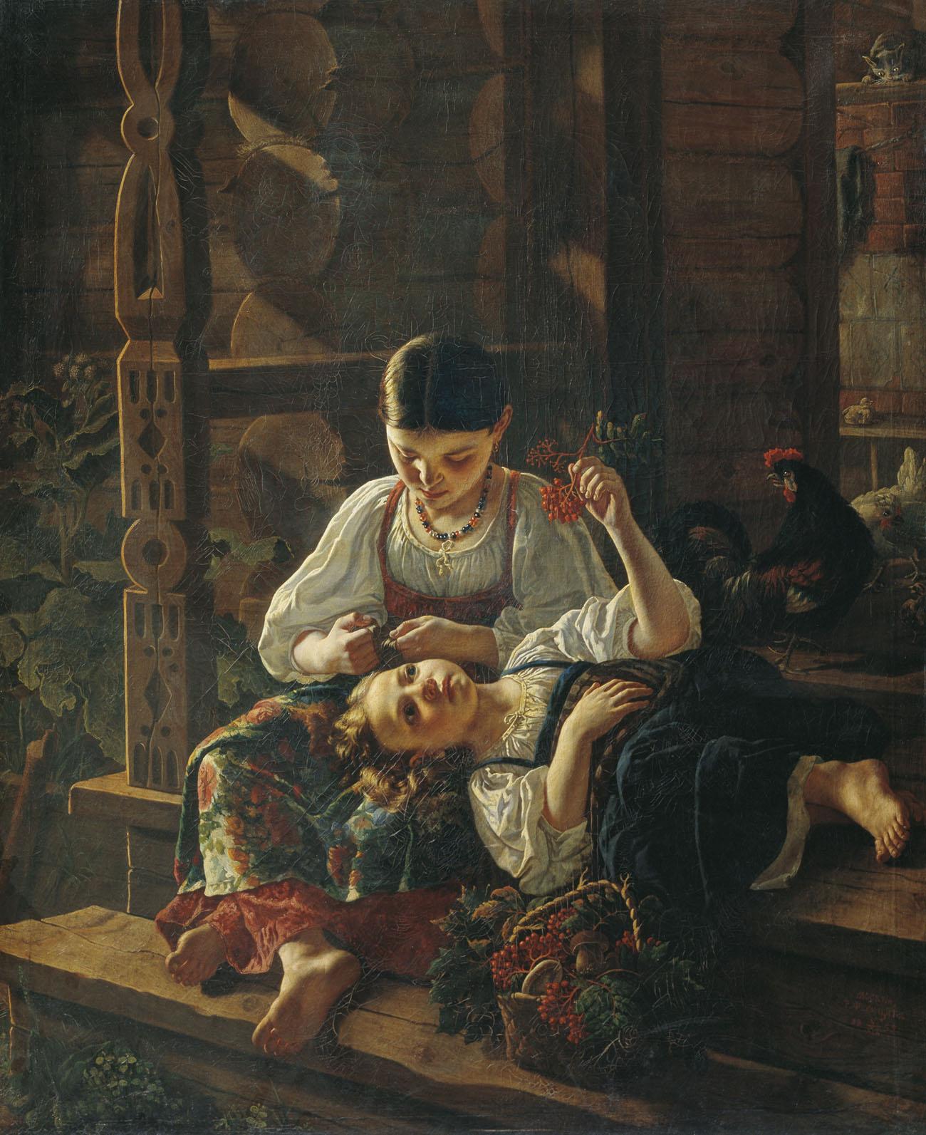 картины русская живопись: