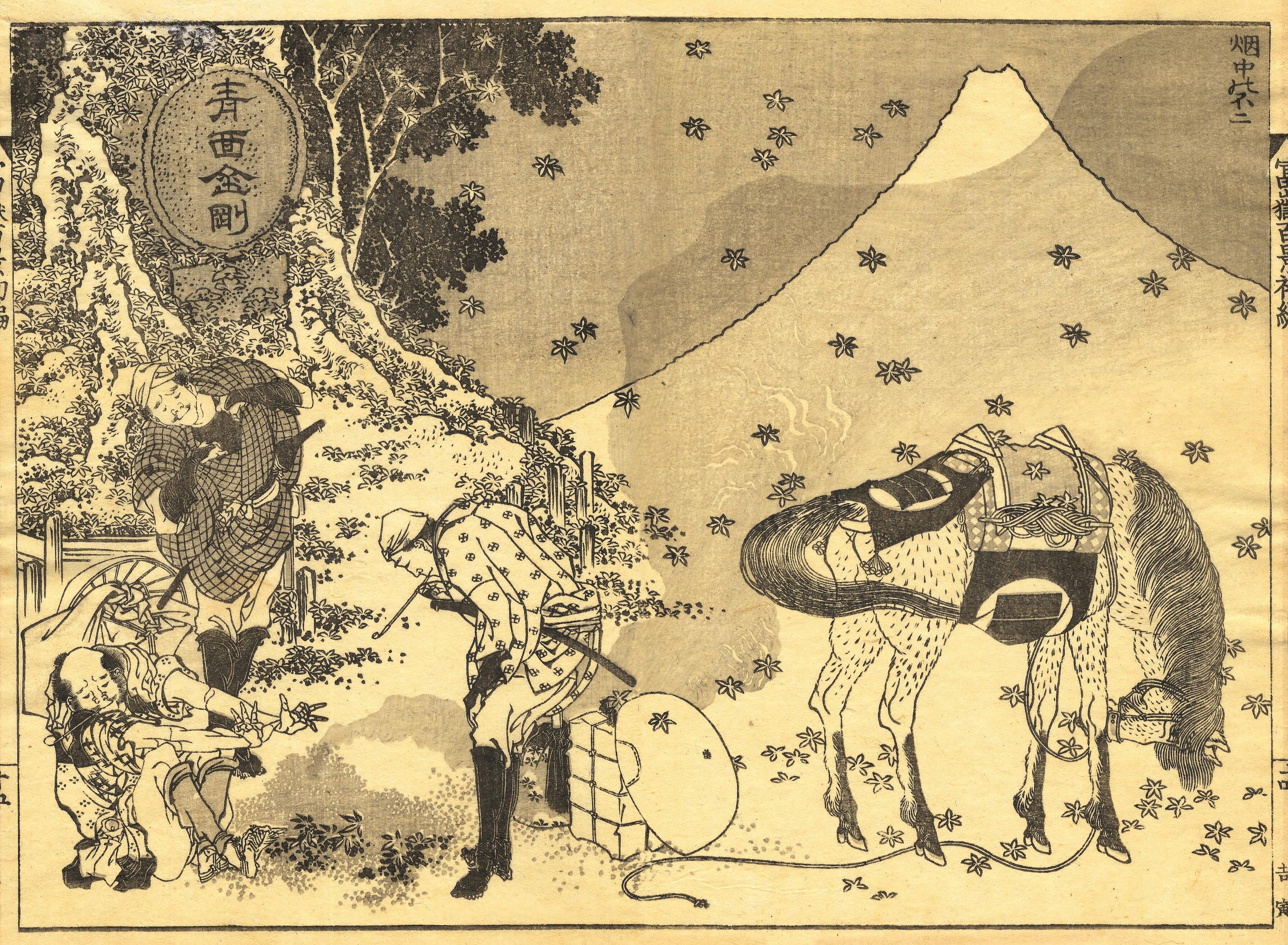 японская графика:
