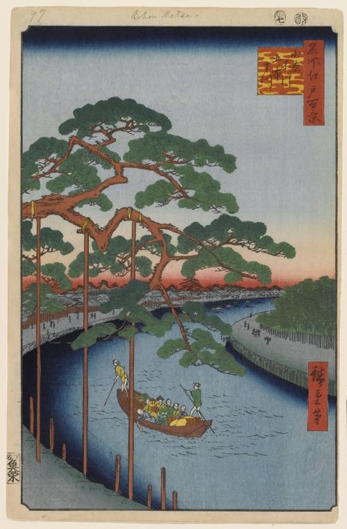 Японская графика (коллекция) (120 работ) (1 часть)