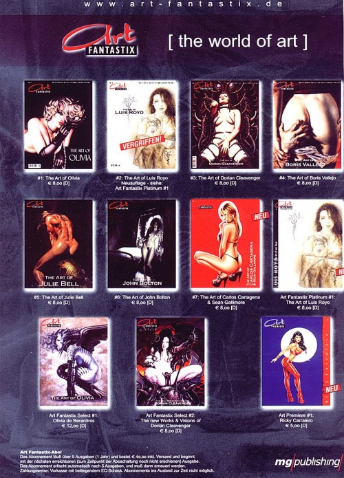 Коллекция ART Fantastix Platinum Edition (2 часть)