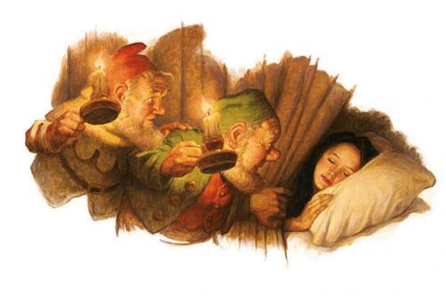 Сказки в иллюстрациях Scott Gustafson (196 работ)