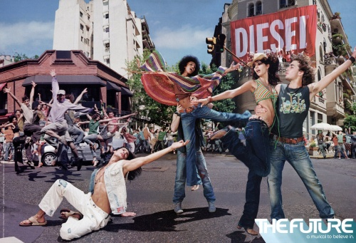 Современная реклама: Одежда и обувь. Часть 6 (101 фото)