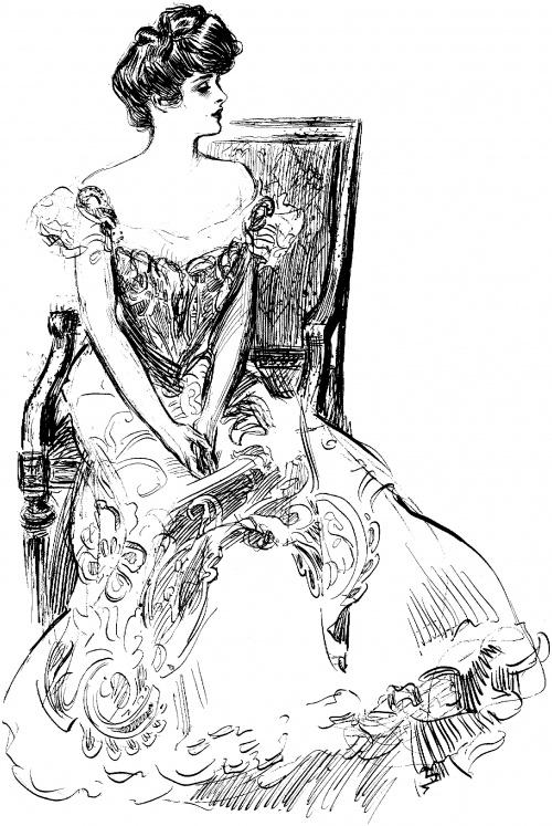 Charles Dana Gibson (1867 – 1944) (237 работ)