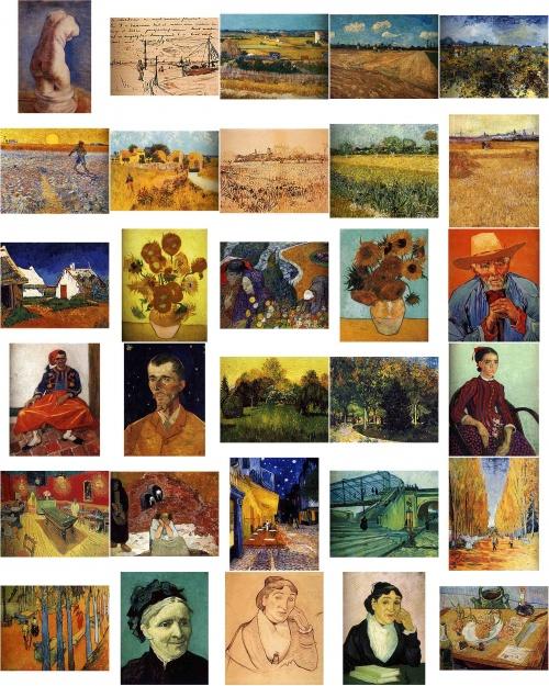 Винсент Виллем ван Гог | XIXe | Vincent Willem van Gogh (350 работ) (2 часть)