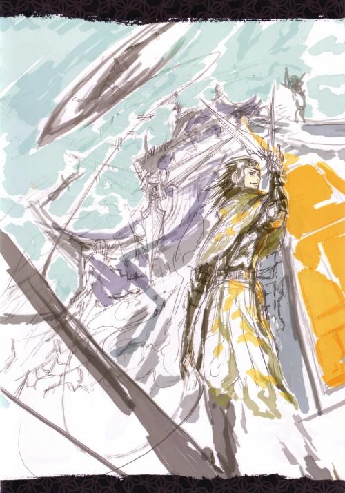 D Gray-man Noche (Artbook) (80 работ)