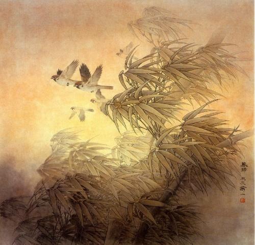 Работы китайского художника Wan Yi (19 работ)