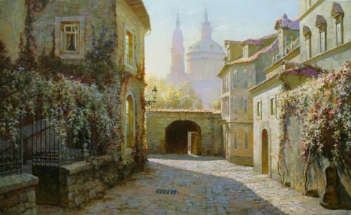 Картина старый город (119 работ)
