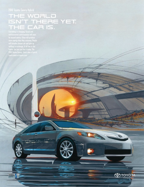 Modern Advertisment - Cars Part 6 (100 фото)