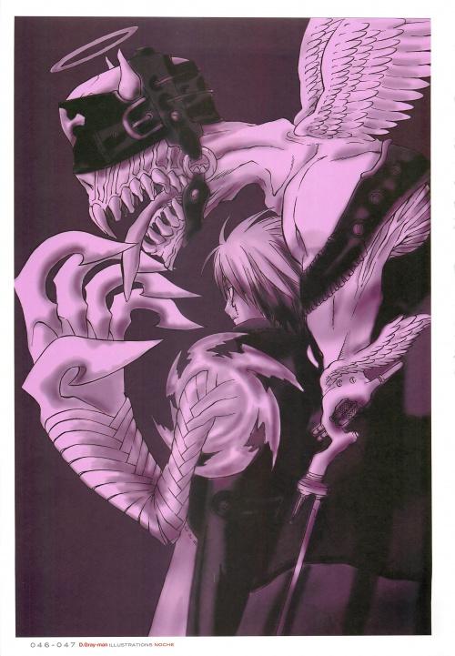 D Gray-man Noche (Artbook) (109 работ)