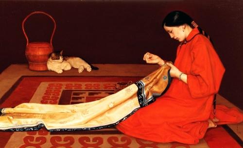 Живопись и графика Китая. Коллекция (1173 работ) (9 часть)