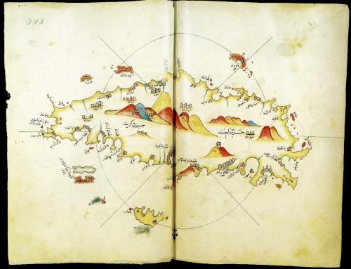 Старинные (XIII-XVIIIв) морские карты, диаграммы, гравюры, рисунки (180 работ) (1 часть)
