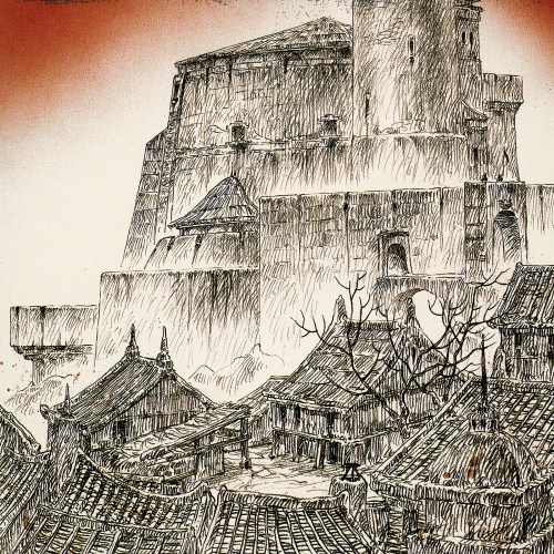 Луис Ройо - Dead Moon (67 работ) (1 часть)