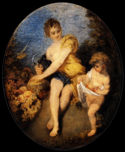 Антуан Ватто | XVIIIe | Antoine Watteau (125 работ) (1 часть)
