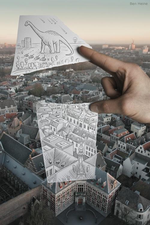 Креативные работы Бенджамина Гейне (27 фото)