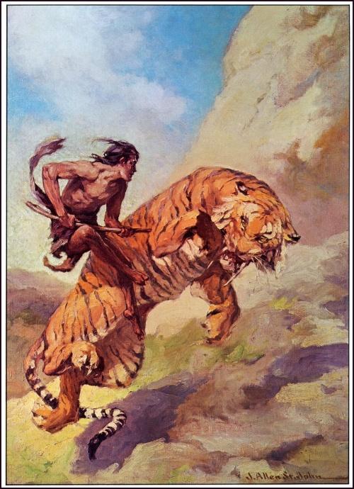 Иллюстратор James Allen St. John (1872-1957) (200 работ)