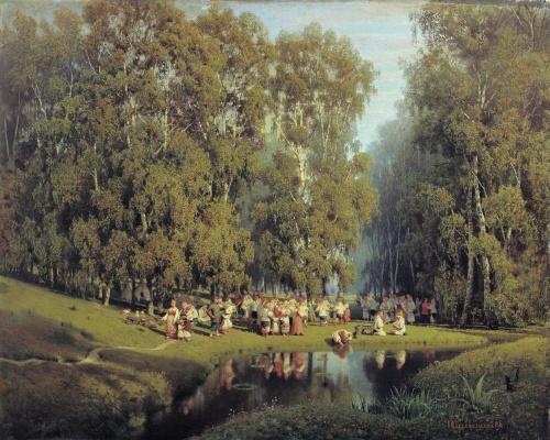 Большая коллекция русской живописи (252 работ) (2 часть)