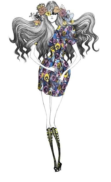 Laura Laine's (Лора Лэйн ) Fashion Illustrations (57 работ)