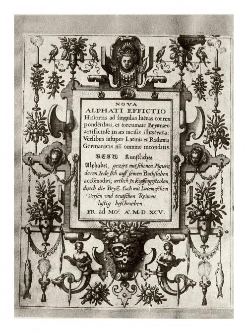 Алфавит Johann Theodor de Bry (25 работ)