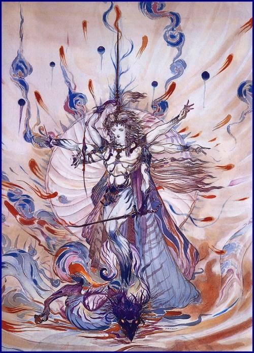 Амано Еситака – Amano Yoshitaka. Безудержная фантазия (397 работ)