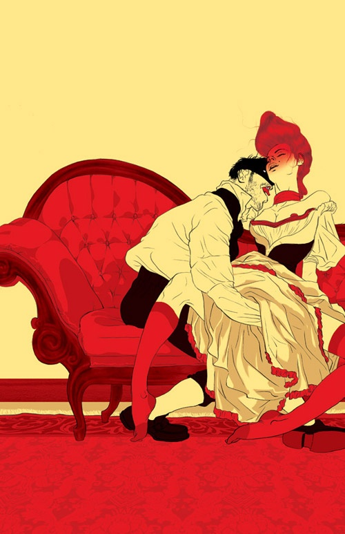 Illustrators Asaf and Tomer Hanuka (167 работ)