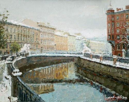 Художник Сергей Ляхович. Санкт-Петербург (45 работ)
