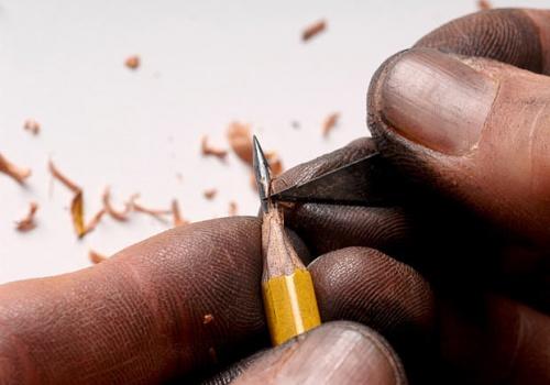 Креативные карандаши! (резьба по грифелю) (61 работ)