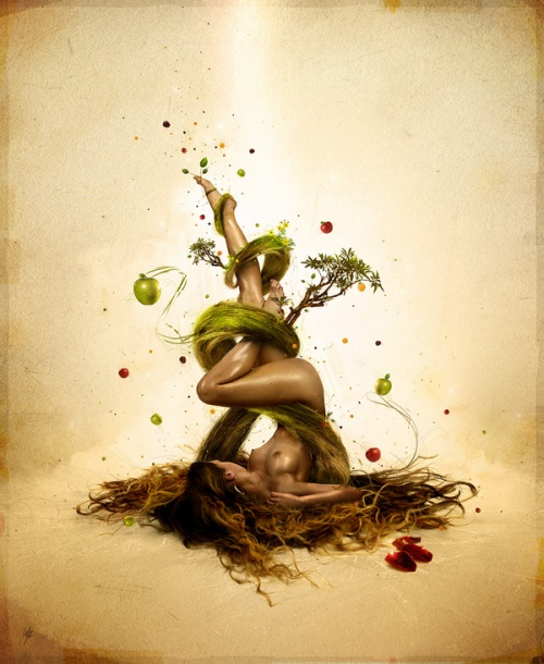 80 Creative Mind Blowing Examples Of Photo Manipulations (80 фото)