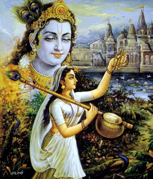 Кришна - коллекция изображений. Часть 9 (100 работ)