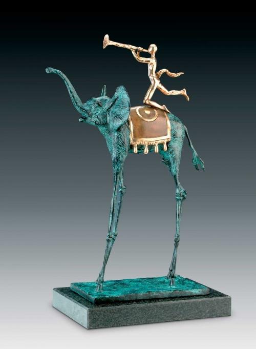 Сальвадор Дали - графика и скульптура (38 работ)