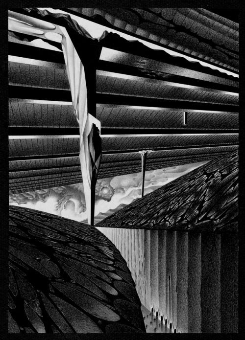 Картины и рисунки математика Анатолия Фоменко