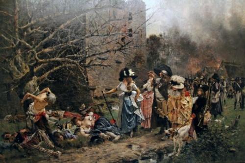 Francois Flameng (1856-1923) (115 работ)