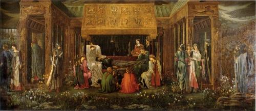 Художник Sir Edward Burne-Jones