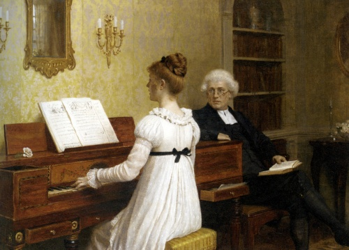 Романтизм и прерафаэлитизм. Художник Edmund Blair Leighton (91 работ)