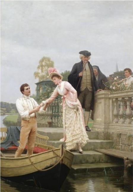 Романтизм и прерафаэлитизм. Художник Edmund Blair Leighton (91 работ)