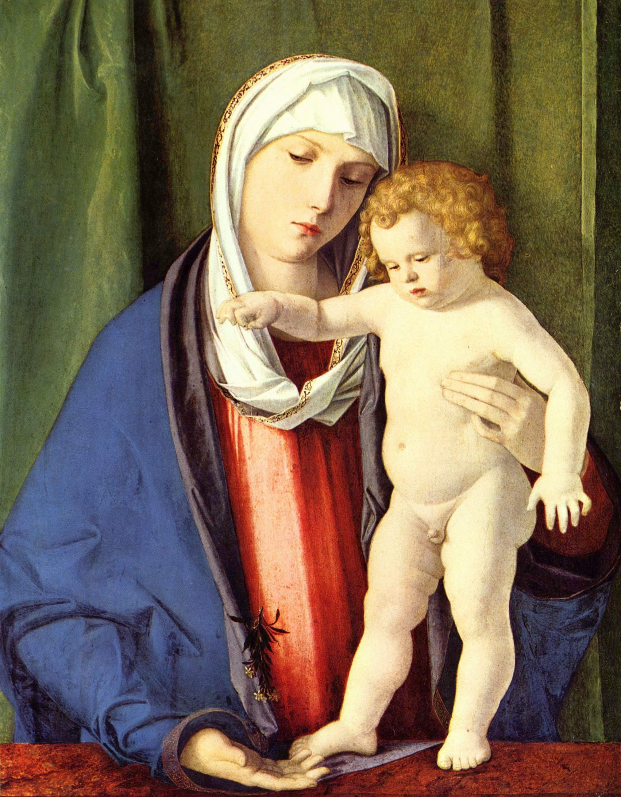 madonna and venus from two different Italian renaissance painting is the painting of showing the madonna and child these two venus in both these roles in the two famous tempera.