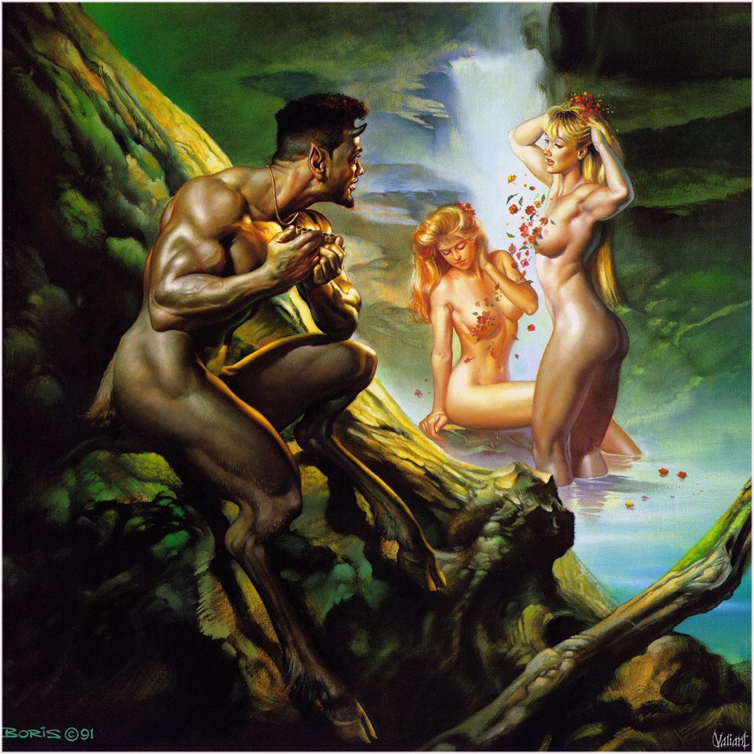 Порно с мифическими существами