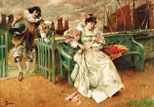 比利时 画家 弗 尔 南 图 森 特 fernand toussaint 作品