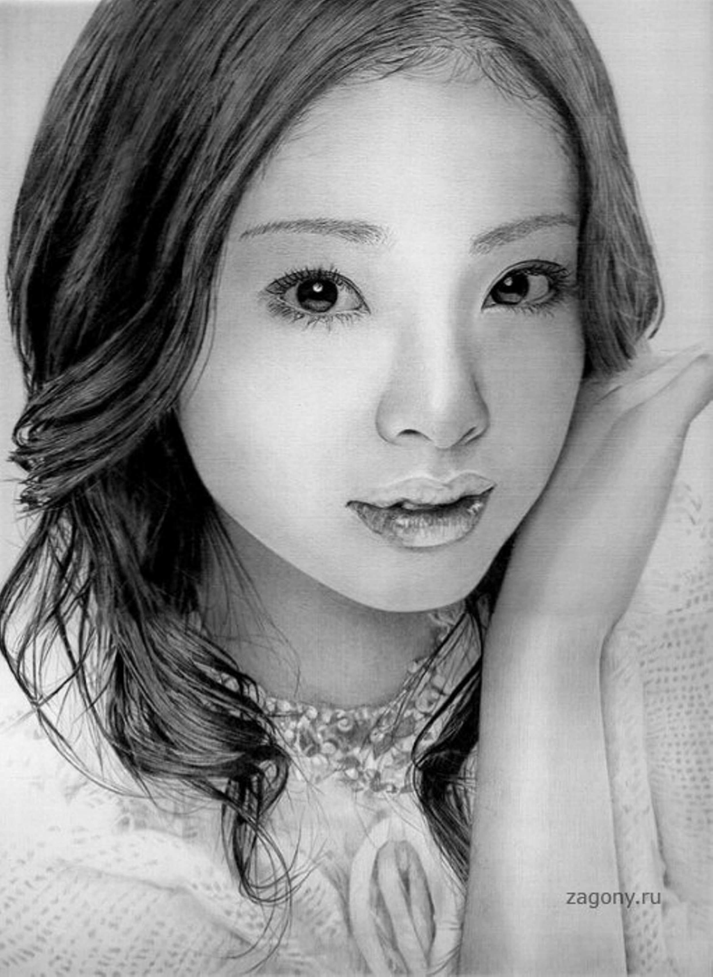 Рисунки японских девушек 14 фотография