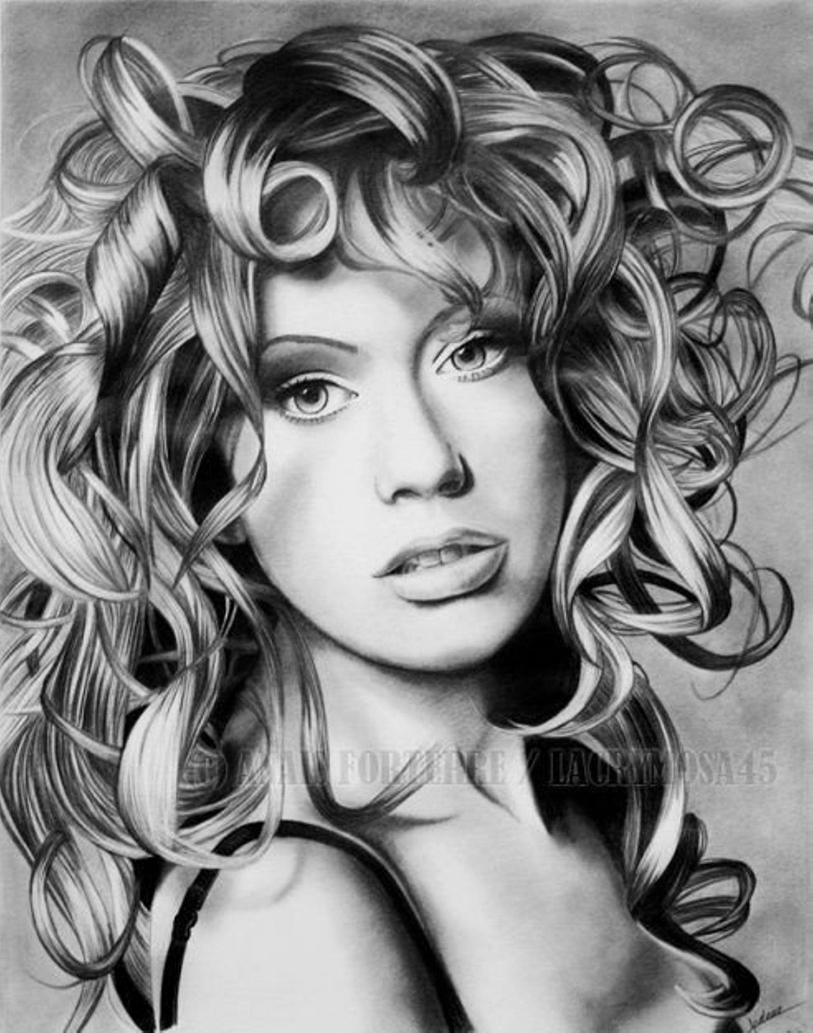 Из картинки в карандашный рисунок