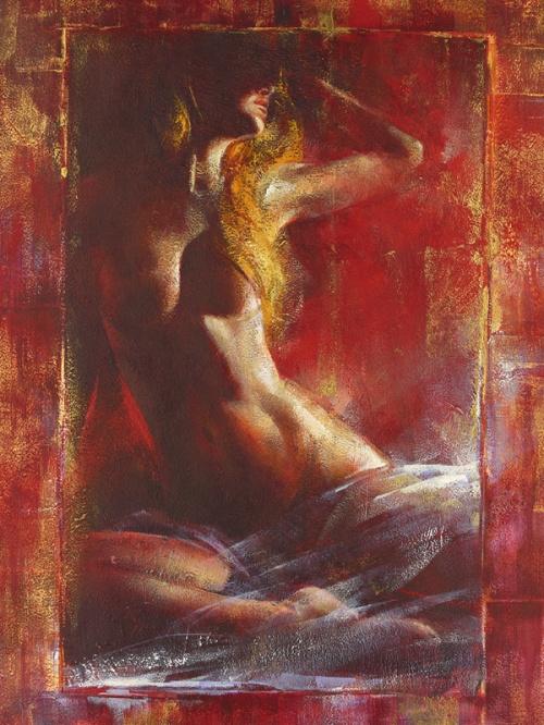 Художник Alain Dumas - Женственное (11 работ)