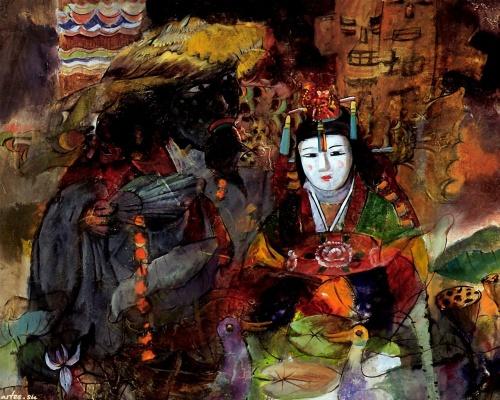Работы художника Sung Sam Park (51 работ)